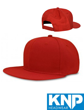 KNP Flat Brim Silhouette Cap #WS6340