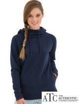 ATC Ladies Funnel Neck Hooded Sweat #L2002