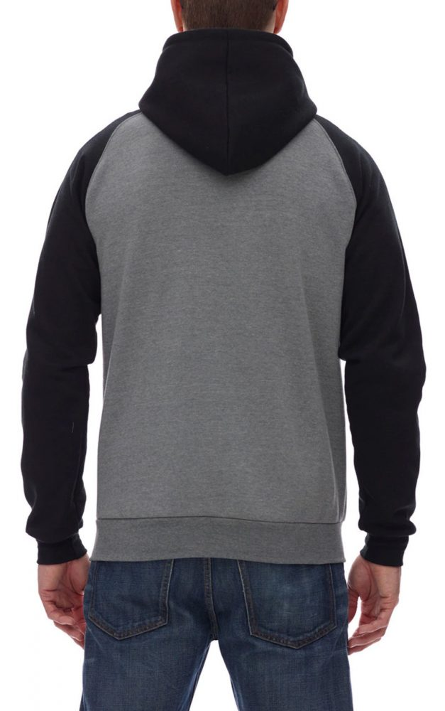 King 2-Tone Raglan Zip #KF4048