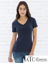 ATC Ladies Eurospun V-Neck Tee #ATC8001L