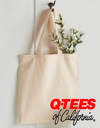 Q-Tees Cotton Economical tote #QTB