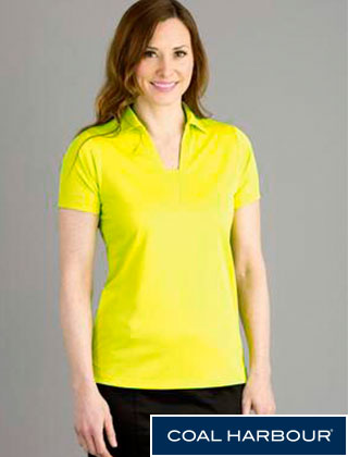 Coal Harbour Ladies City Tech Shirt #L4015