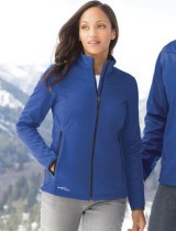Eddie Bauer Ladies Soft Shell Jacket #EB539