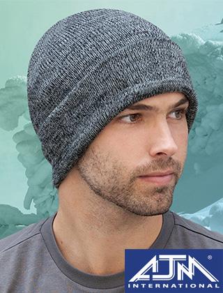 AJM Marl Rib Knit Cuff Toque #1F533M