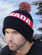 AJM Cuff Pom Pom Canada Toque #9R215M