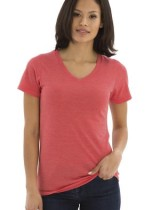 Koi Ladies Triblend V-neck Tee #KOI8022L