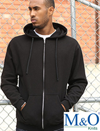 M&O Unisex Zipper Fleece #3331