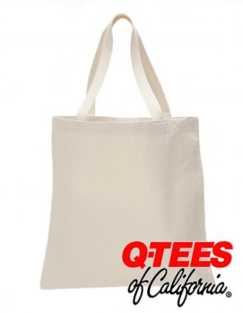 Q-Tees Canvas Promotional Tote #Q800