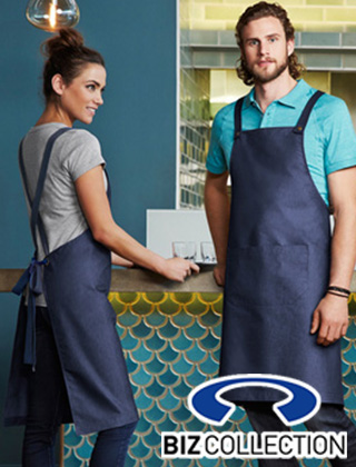 Biz Collection Urban Bib Apron #BA55