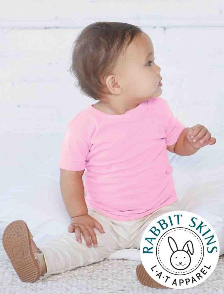 INFANT Rabbit Skins Short Sleeve Tee #3401