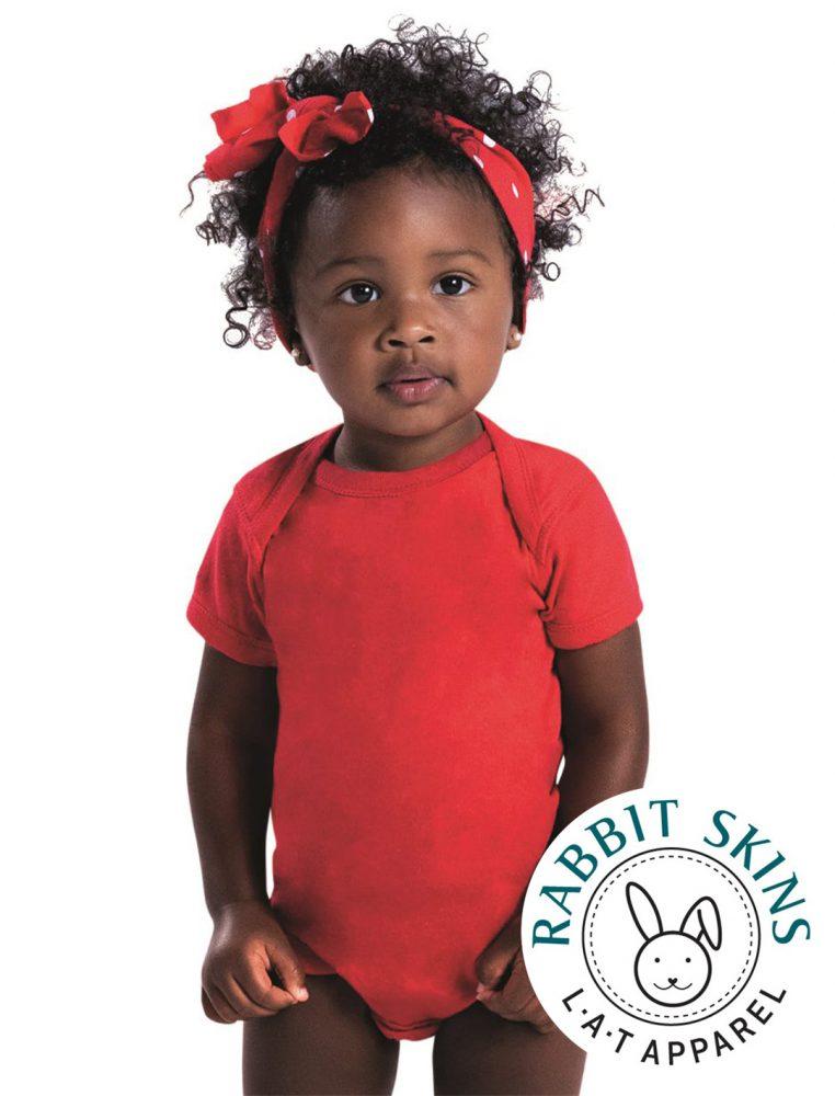 INFANT Rabbit Skins Lap Shoulder Bodysuit #4400