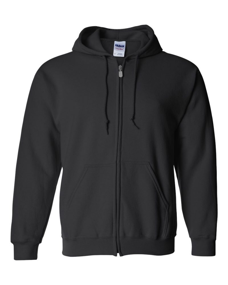 Printing on Unisex Zip-Up Hooded Sweatshirt