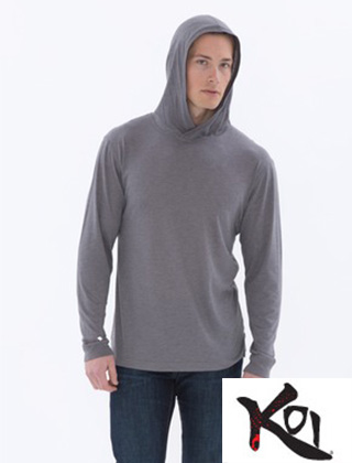 Koi Triblend LS Hooded Tee #KOI8031