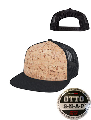 OTTO Flatbill Cork Hat #154-1174