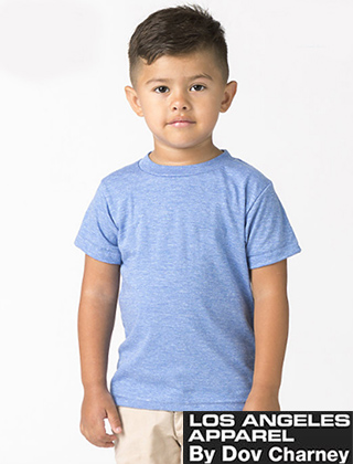 TODDLER LA Apparel Tri-blend Tee #TR1001