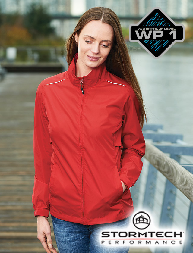 Stormtech Ladies Equinox Packable Shell #KX-2W