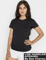 LA Apparel Ladies Fine Tee #21002