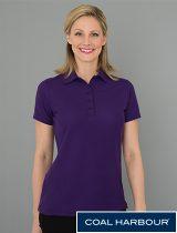 Coal Harbour Ladies Cotton Pique Shirt #L4011