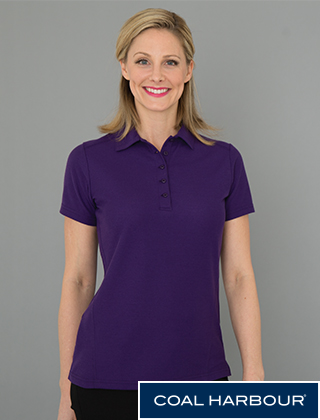 Coal Harbour Ladies Pique Shirt #L4011