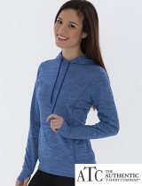 ATC Ladies Dynamic Heather Hoodie #L2033