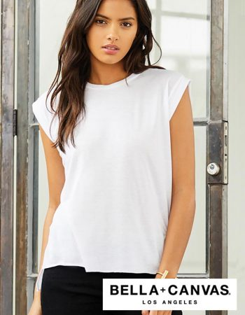 Bella+Canvas Ladies Flowy Cuff Tee #B8804