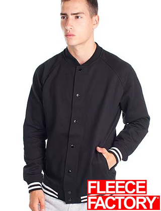 Fleece Factory Fleece Varsity Jacket #M888
