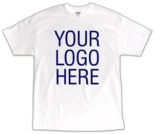 $4.25 White T-shirt Special