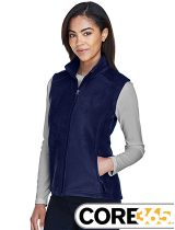 Core 365 Ladies Journey Fleece Vest #78191