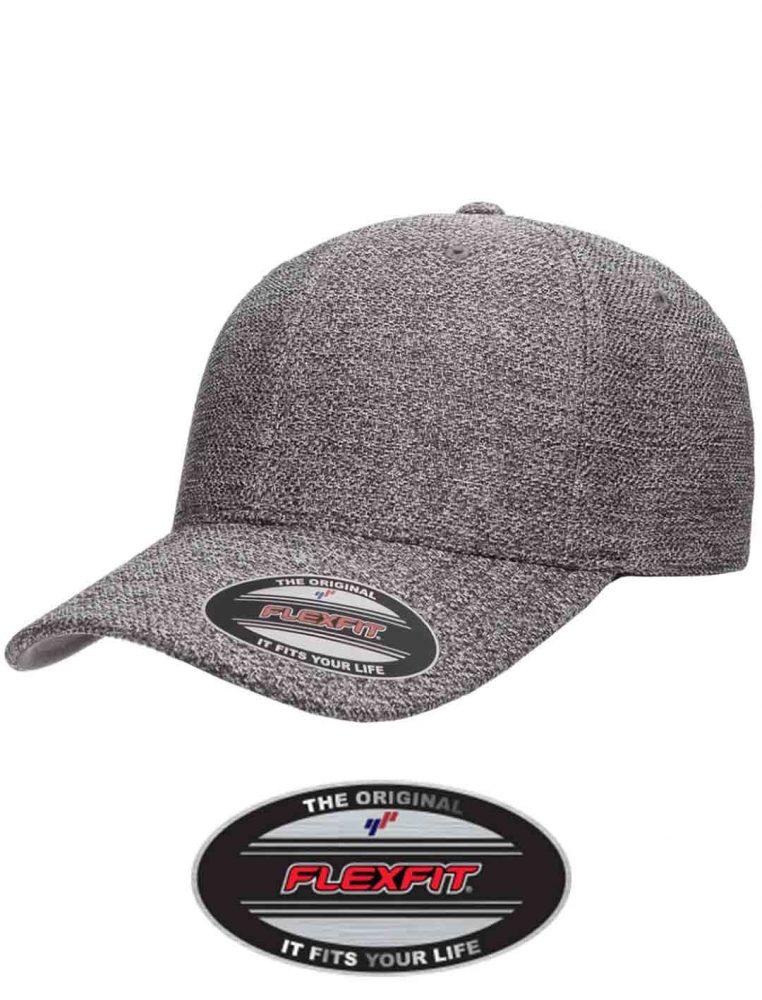 Flex Fit Melange Hat #FF6355