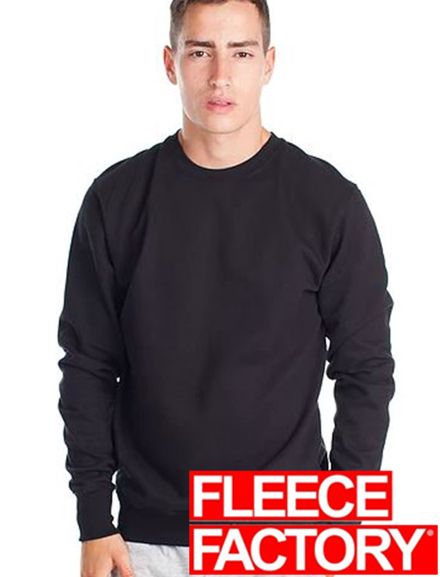 Fleece Factory 50/50 Fashion Fit Crewneck #MR910