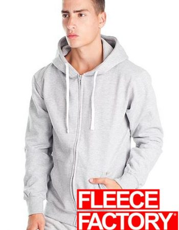 Fleece Factory 50/50 Fashion Fit Zip Hoodie #MR920