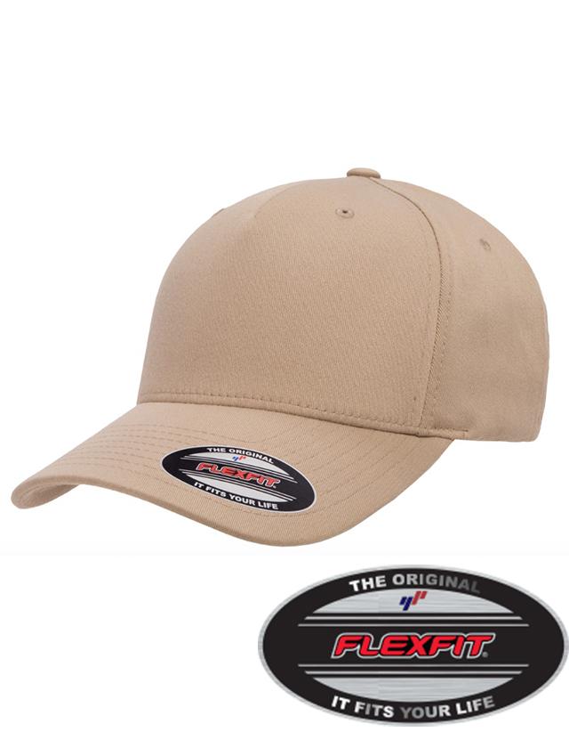 Flex Fit 5-Panel Hat #FF6560