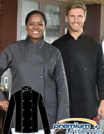 Prem Uniforms Long Sleeve Colour Chef Coat #5353/KB