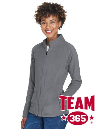 Team 365 Ladies' Campus Microfleece Jacket #TT90W