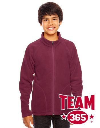 Team 365 Youth Campus Microfleece Jacket #TT90Y