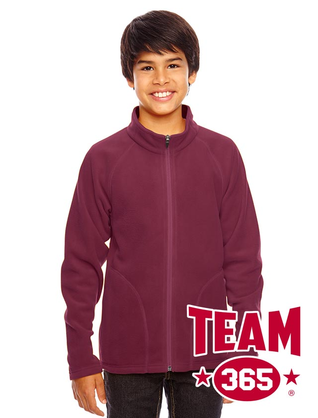Team 365 Youth Campus Microfleece Jacket #TT90Y