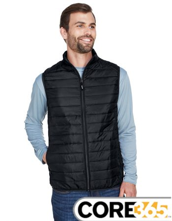 Core 365 Men's Prevail Packable Puffer Vest #CE702