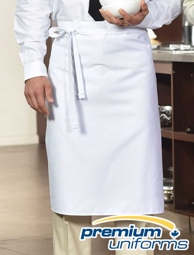 Premium Uniforms No Pocket Bistro Apron #1901