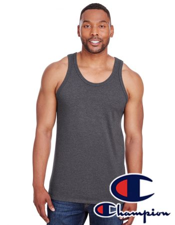Champion Men's Ringspun Cotton Tank Top #CP30