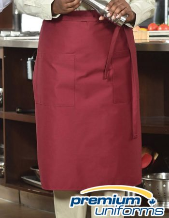 Premium Uniforms With Pocket Bistro Apron #1900