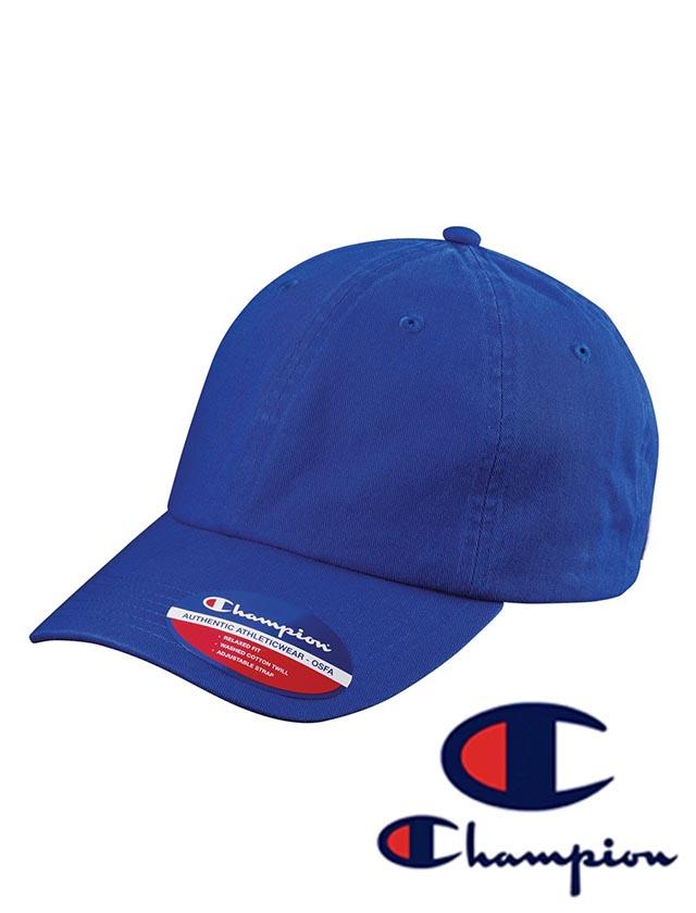 Champion Washed-Twill Dad's Cap #CS4000