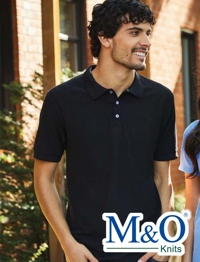 M&O 50/50 Soft Touch Sport Shirt #7006