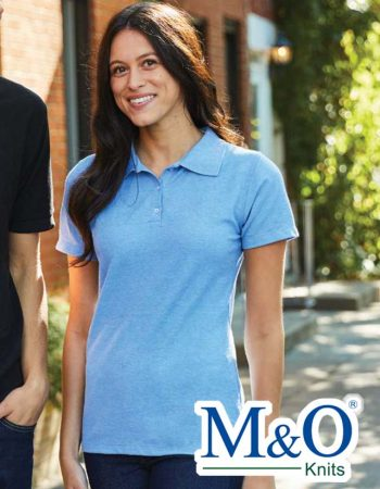M&O 50/50 Ladies Soft Touch Sport Shirt #7007