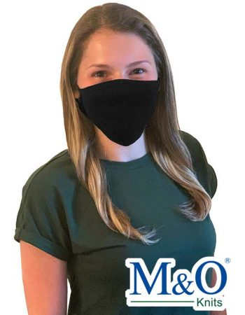 M&O Cotton Antimicrobial Adjustable Mask #1004