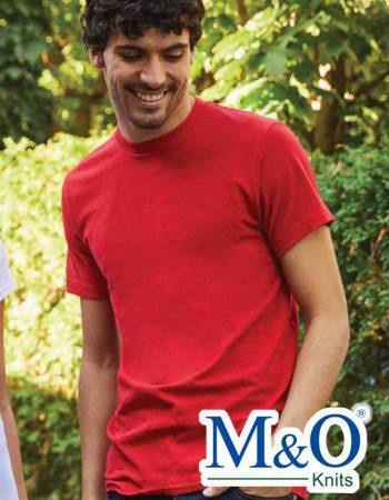 M&O Ringspun Fine T-Shirt #4502