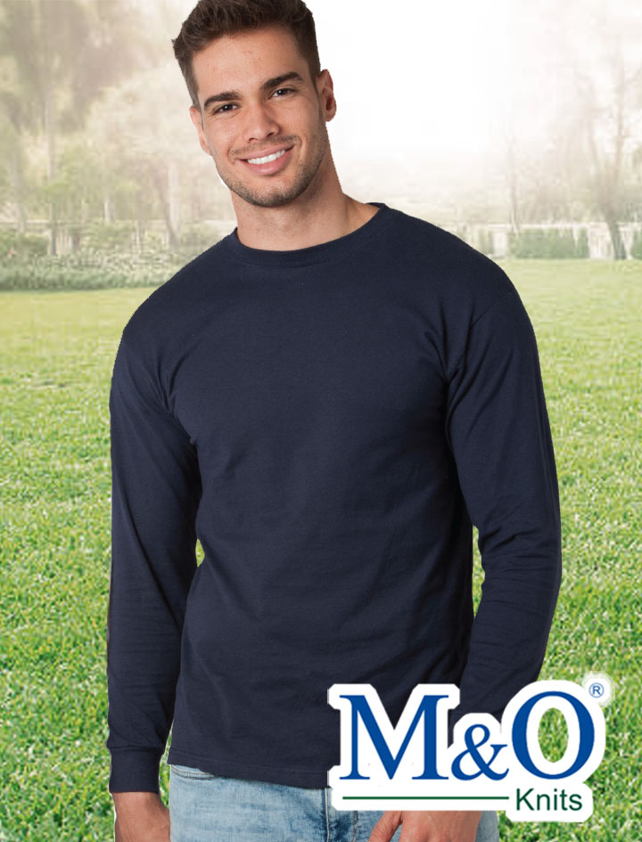 M&O Gold Soft Touch Long Sleeve T-Shirt #4820