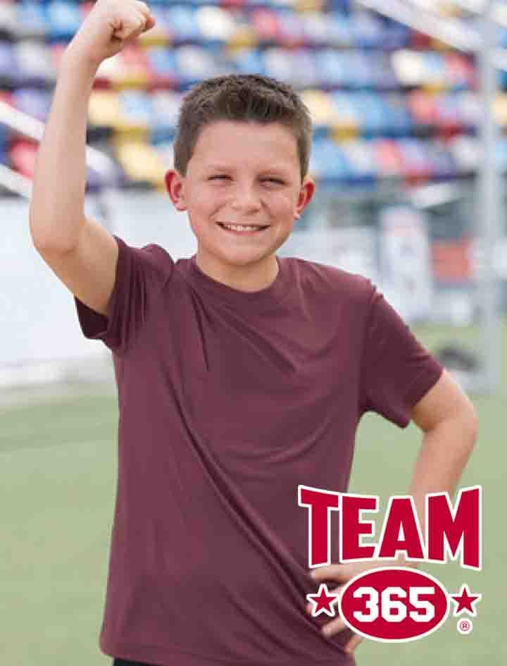 YOUTH Team 365 Zone Performance T-Shirt #TT11Y