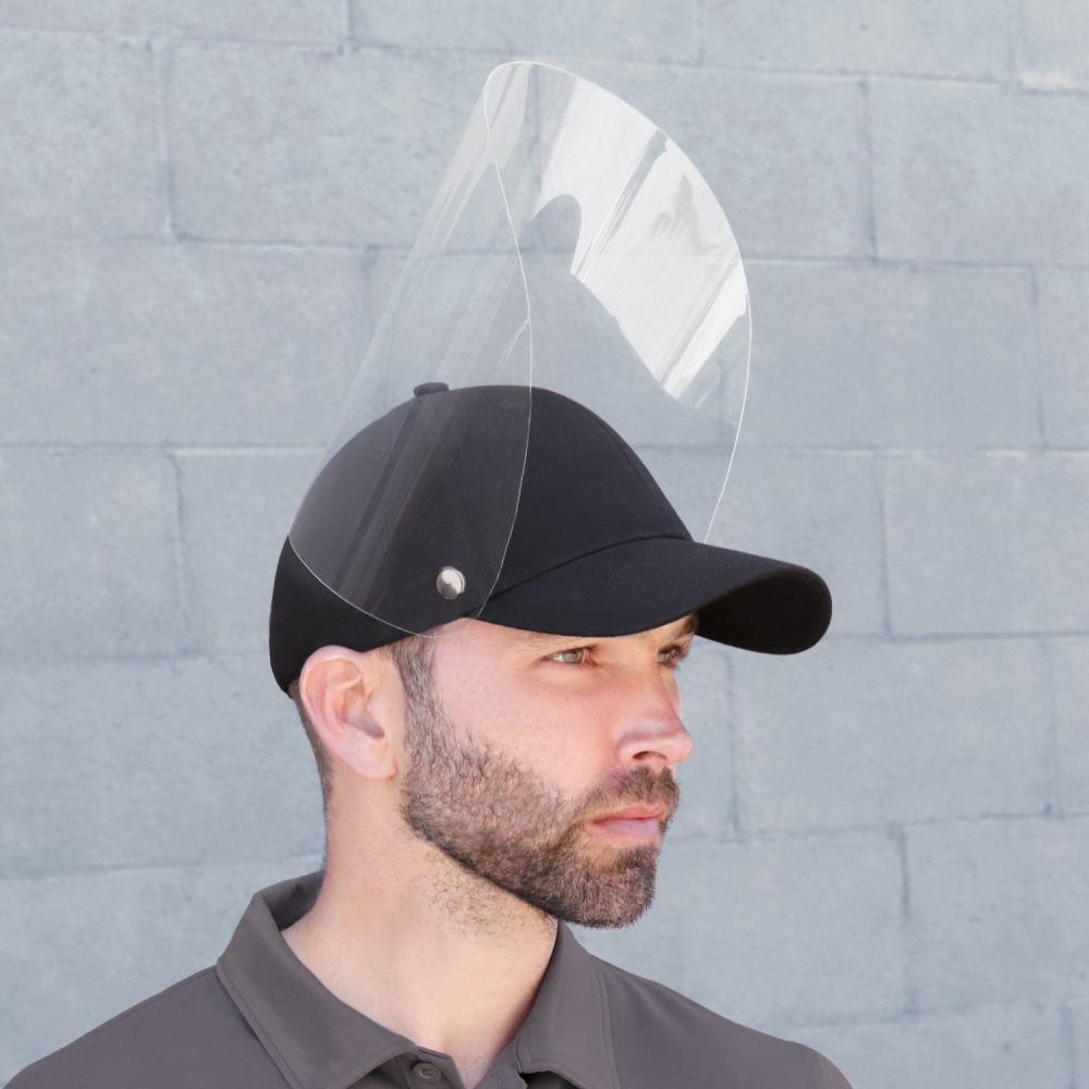 AJM Hat with Face Shield #5000M