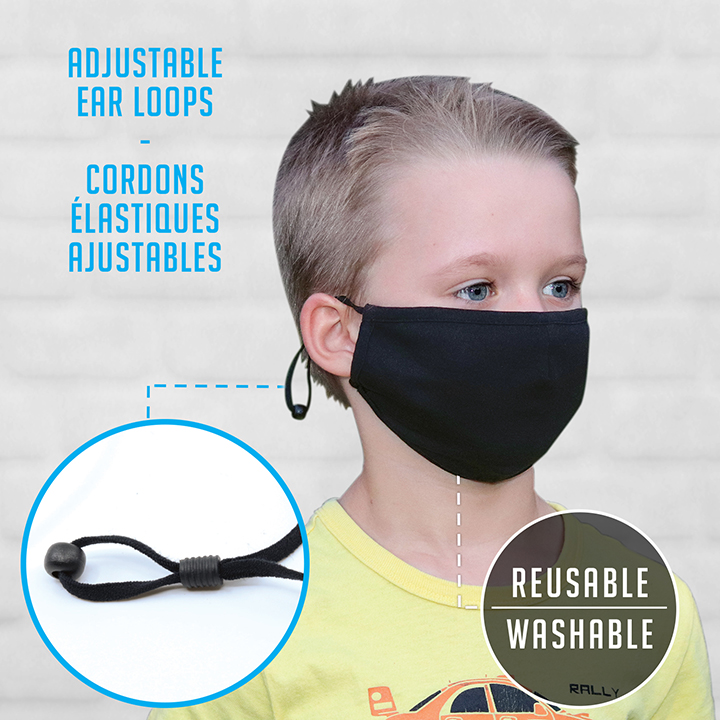 AJM YOUTH Adjustable Elastic Loop Mask #MK0005Y