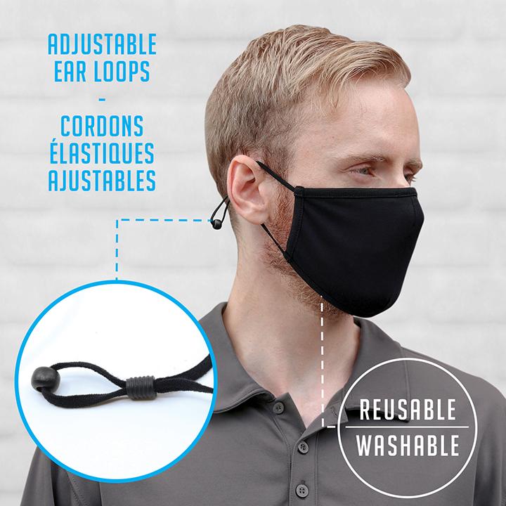 AJM Adjustable Elastic Loop Mask #MK0005